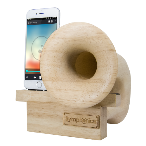 Symphonica Speaker with Natural Finish